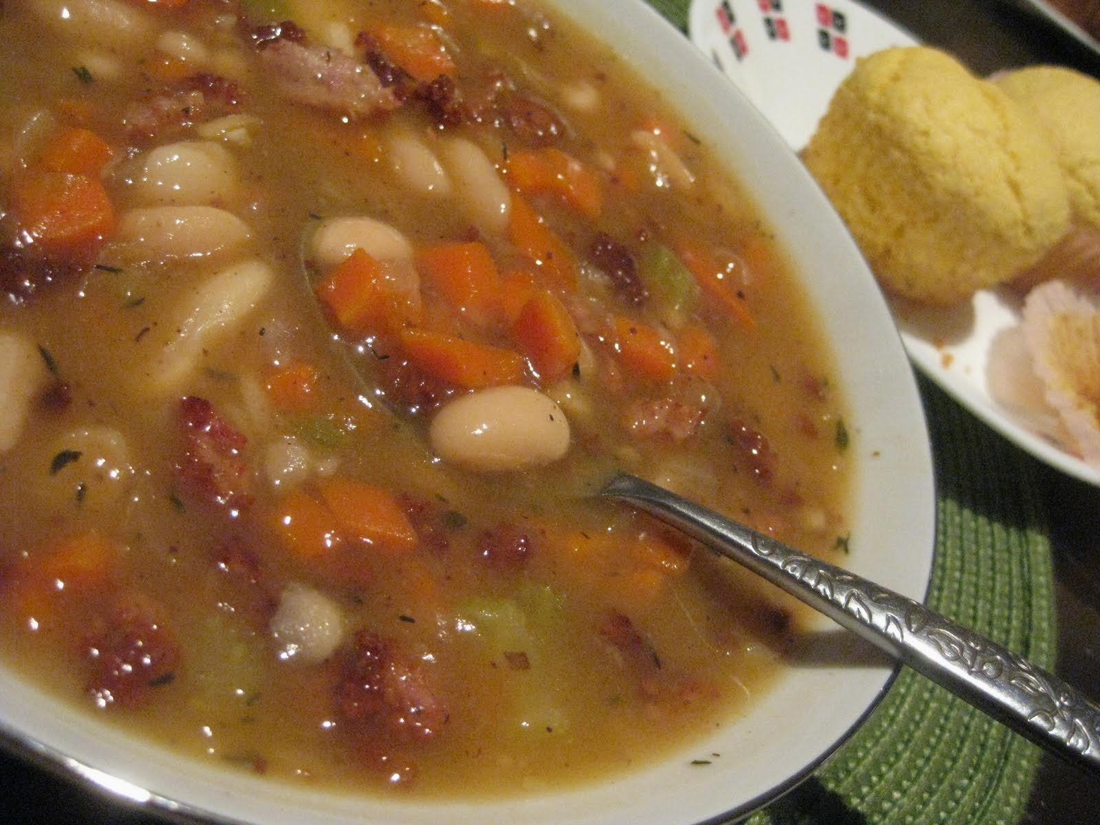 Andrea The Kitchen Witch: 3 bean & bacon soup