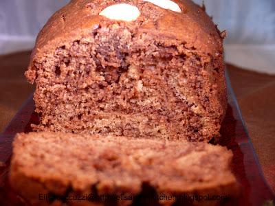 Plumcake variegato alla nutella