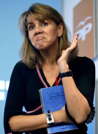 [Sondeo CIS]: Cospedal, a un paso de perder la Presidencia Castellanomanchega Cospedal-2
