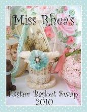 Rhea's Eater Basket Swap