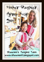 my second Mommy and me Apron Swap!