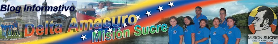 Delta Amacuro Misión Sucre PNF