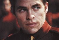 Chris Pine as Kirk - Star Trek 2