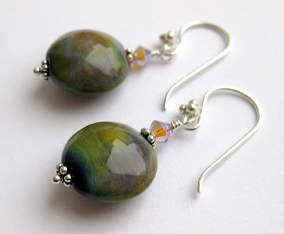 Earrings by Mary Kent at Nemea Designs
