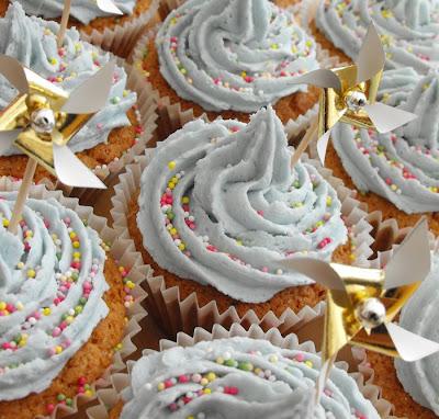 Dylan's Pinwheel Cupcakes