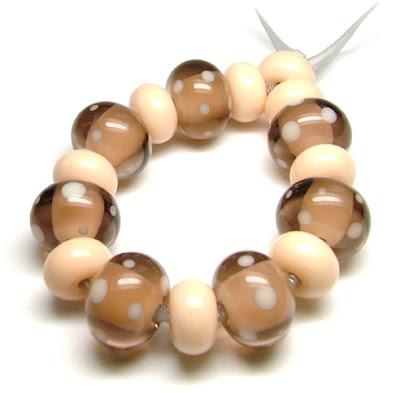 CiM 'Sepia' & 'Butter Pecan' Beads