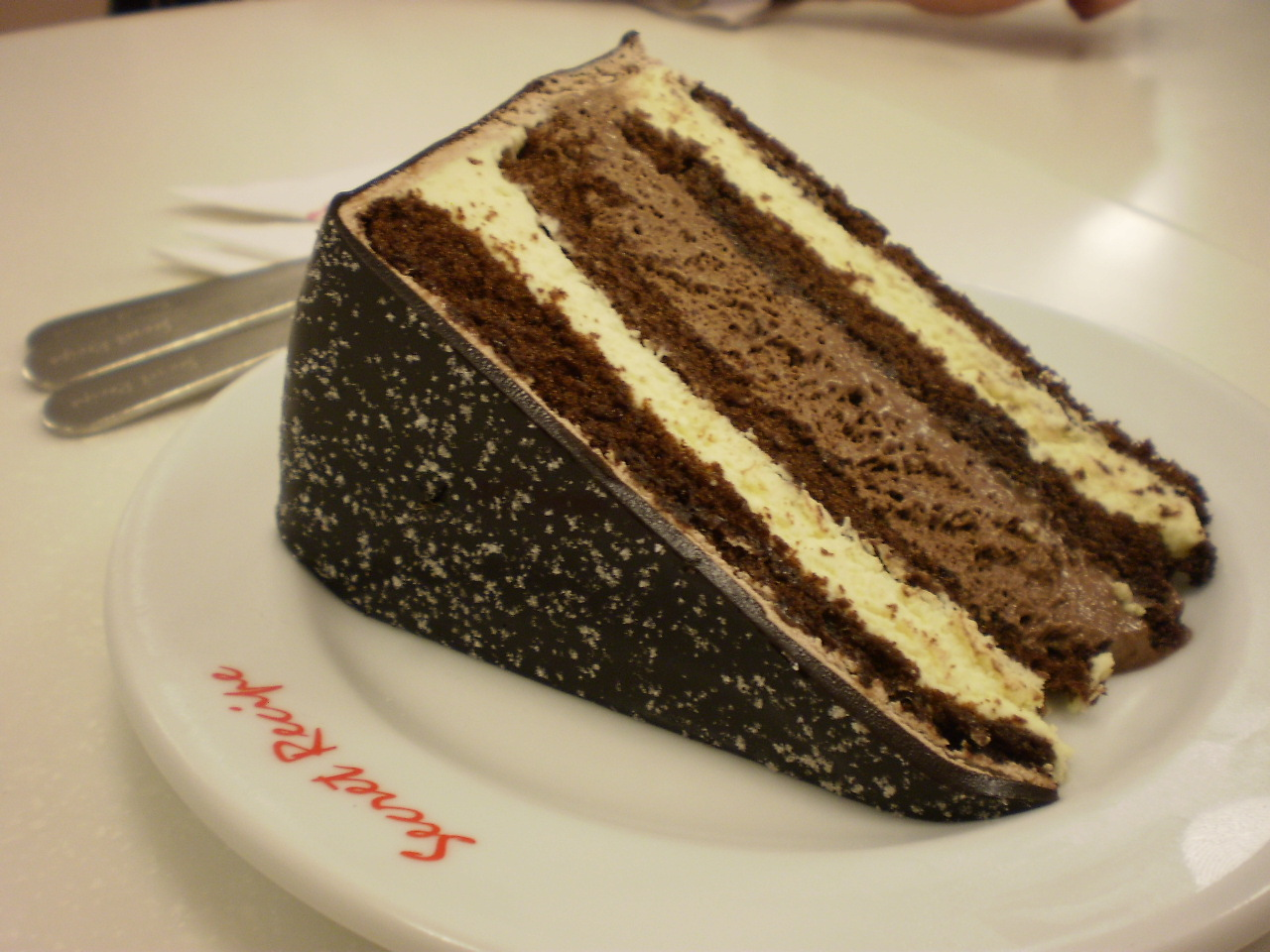 Recipe for chocolate zuccotto cake - Photo recipes