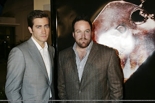 Jake Gyllenhaal with Anthony Swofford