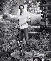 Jake's a lumberjack, and he's okay