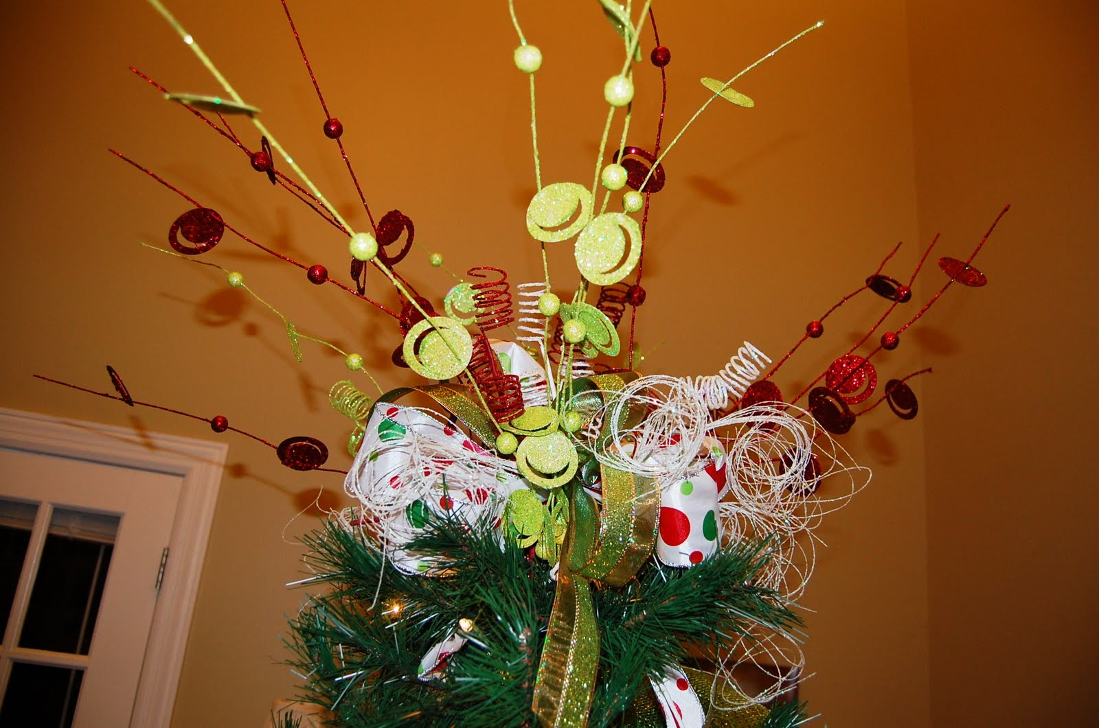 Southern seven christmas tree topper