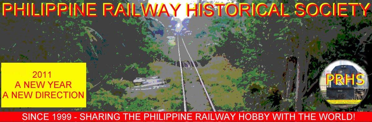 PHILIPPINE RAILWAY HISTORICAL SOCIETY