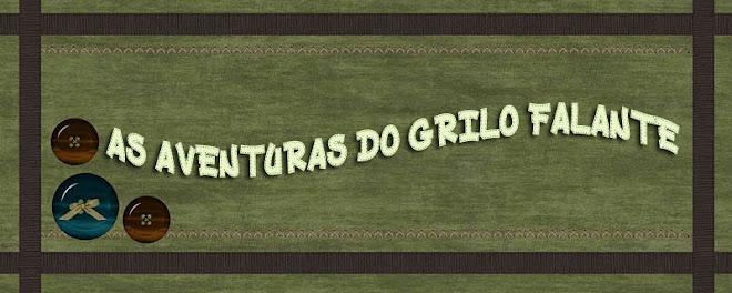 AS AVENTURAS  DO GRILO FALANTE