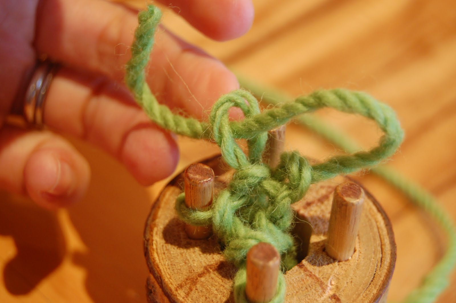 Knitting Nancy How To Use : How to use a knitting nancy educator