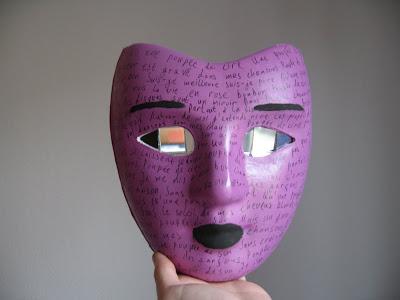 Wie die schwarze Maske für die Person mit der Gelatine zu machen und