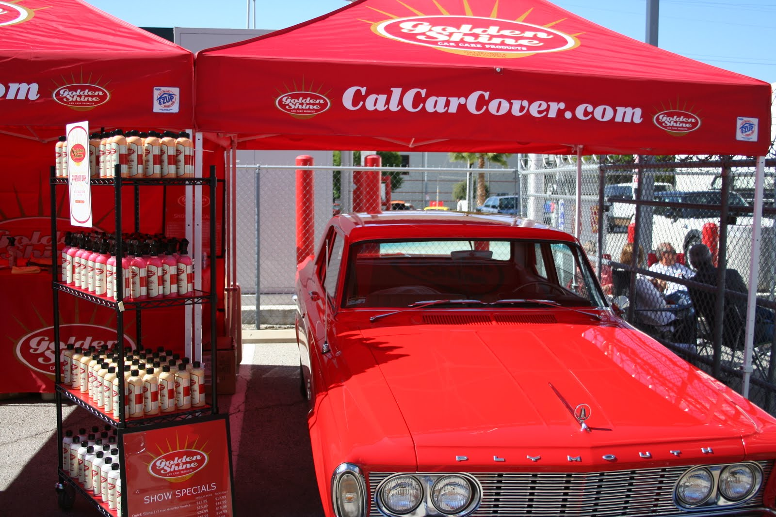 Covering Classic Cars Golden Shine Car Care Products Introduced At - Show car products