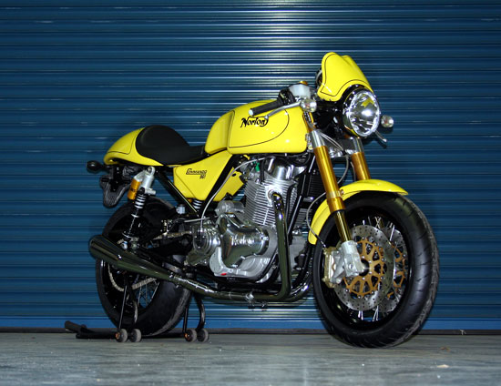 Norton Commando 961 Cafe Racer 2010 motorcycle