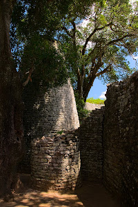 Conical Tower in the Great Enclosure, Great Zimbabwe ruins, Zimbabwe © Matt Prater