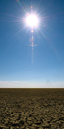 Sun over Etosha Pan, Etosha National Park, Namibia © Matt Prater