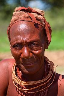 Old Himba woman, near Kamanjab, Namibia © Matt Prater