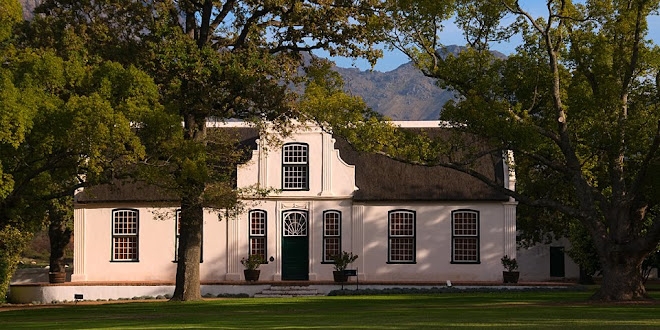 Manor house, Boschendal wine estate, Franschhoek, South Africa © Matt Prater