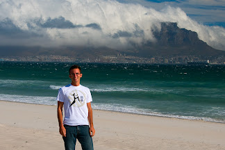 Table Mountain from Bloubergstrand, Cape Town, South Africa