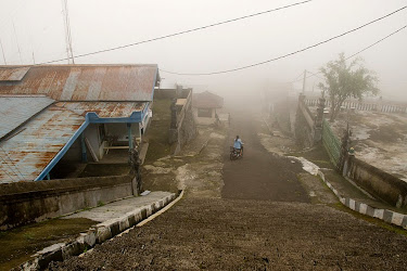 Mountain village at Cetho Temple near Solo (Surakarta), Java, Indonesia © Matt Prater
