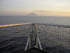 Volcano off the flight deck
