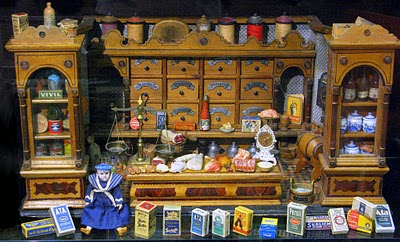 Edwardian Wooden Shop