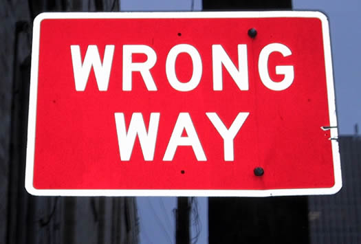 %2521+wrong way sign Choosing a Career Coach