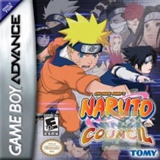 GameBoy Advance Naruto-ninja-council+1
