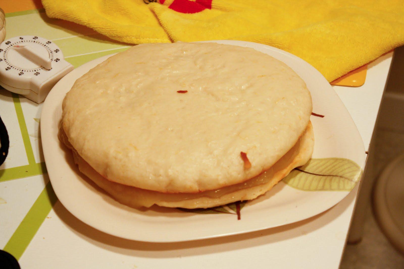 Martha Stewart Lemon Curd Cake