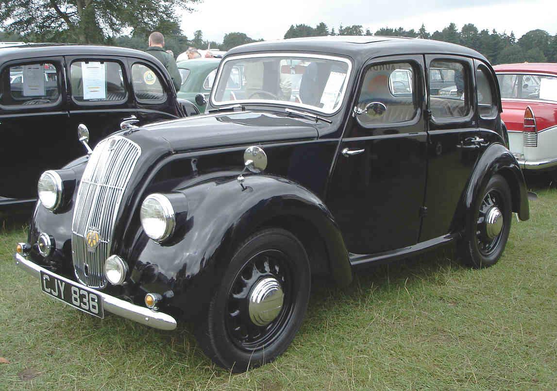 1937 Morris 8 Series Ii Tourer Auto Car Us