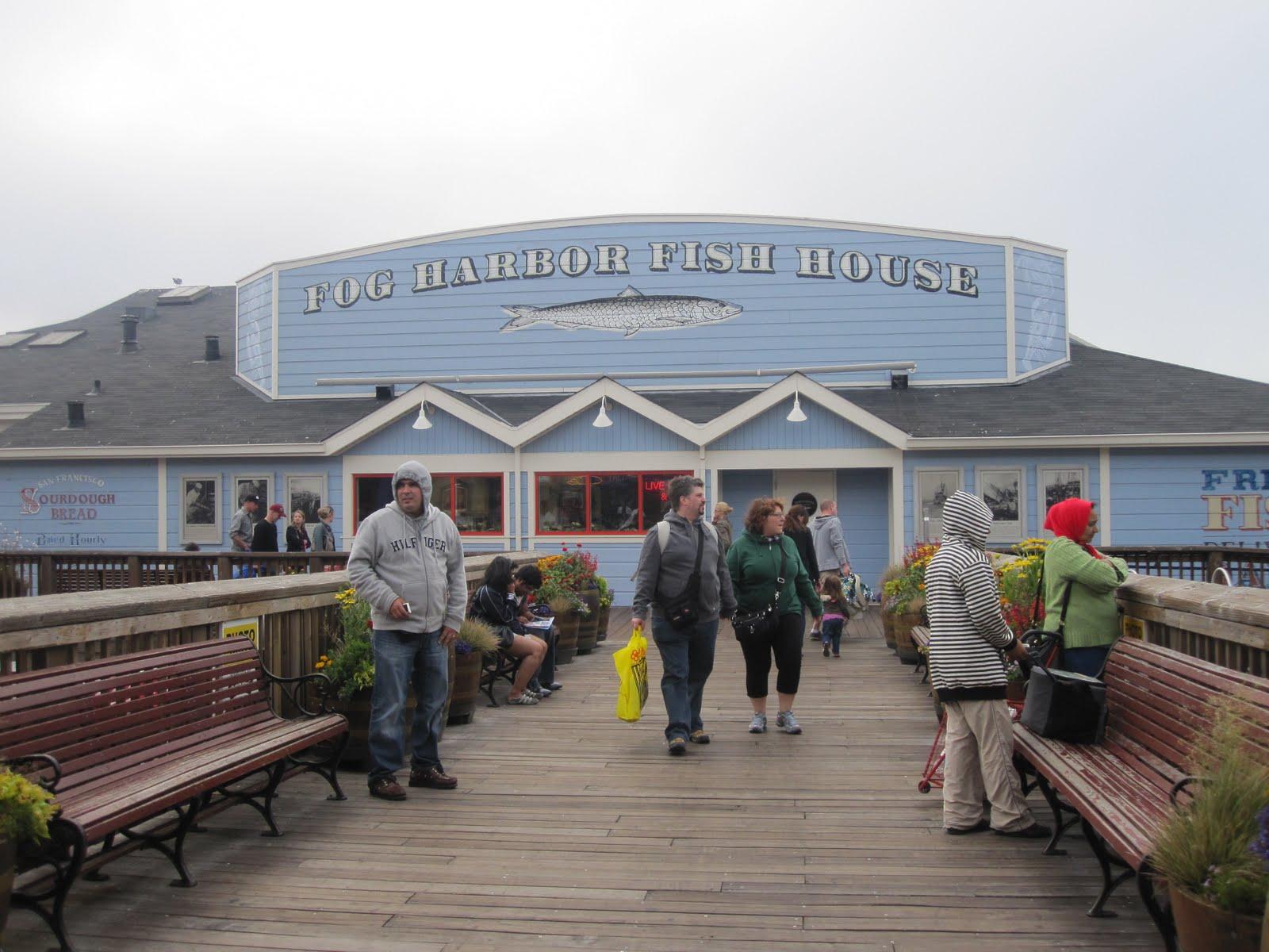 Eating and loving in san francisco fog harbor fish house for Fog harbor fish house san francisco