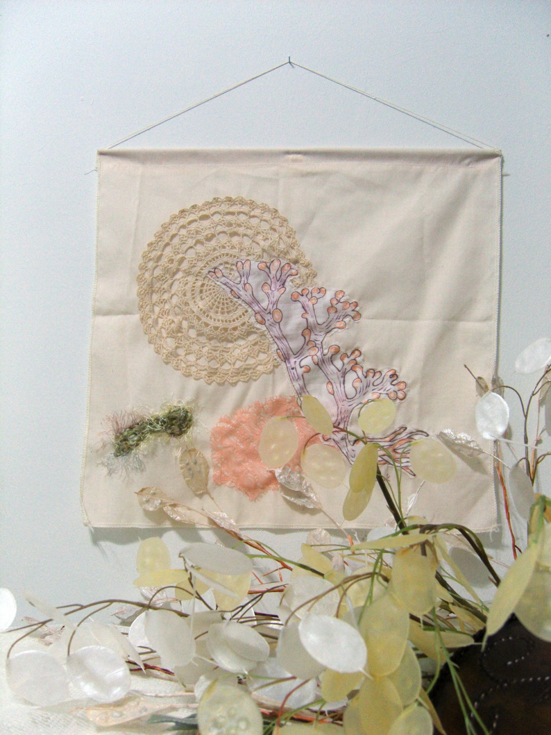 Art contemporary embroidery « origami