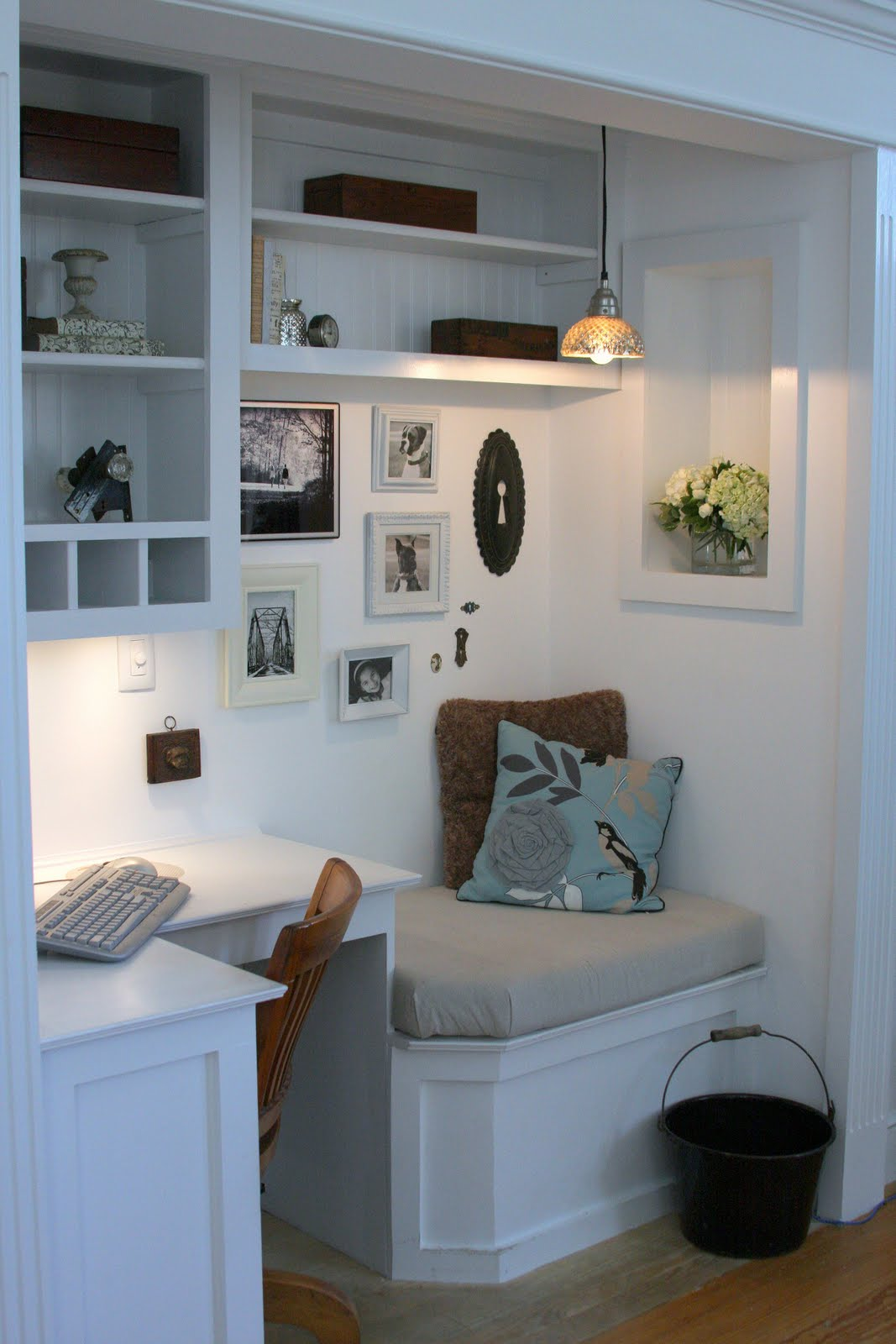diy build your own office nook