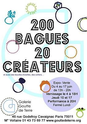 EXPO '200 bagues 20 créateurs