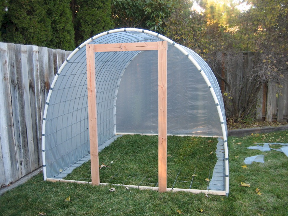 home ideas plans for a pvc green house