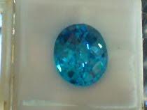 Batu permata Aqua marin asli (Kalimantan)