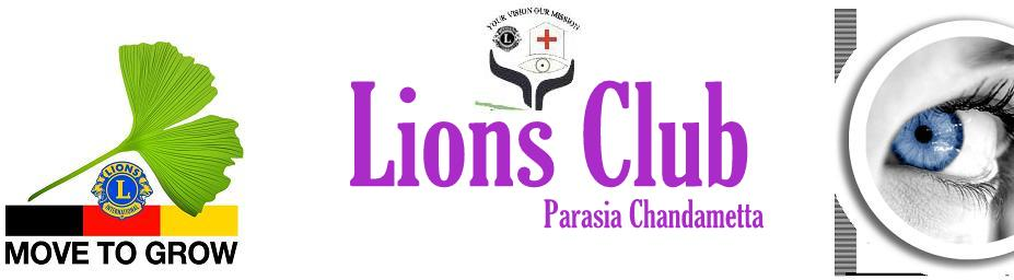 Official Website of Lions eye hospital Parasia district 323 C created by Piyush Batra