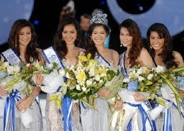 น้องวิว - พงศ์ชนก นักกีฬาเทควันโดทีมชาติ คว้าตำแหน่งมิสไทยแลนด์เวิลด์ 2009 (Miss Thailand World 2009)