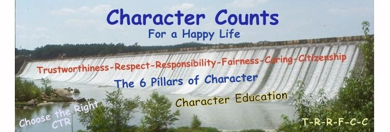 Character Counts for a Happy Life