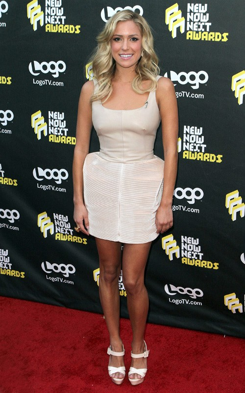 celebrites modification: Kristin Cavallari: Logo Awards Lady