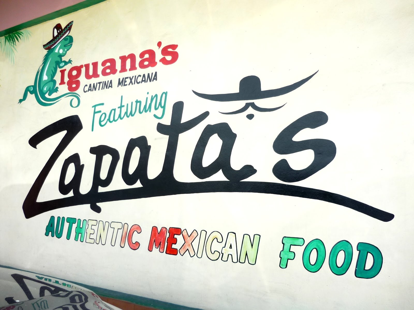 Culinary conquests iguana 39 s cantina mexicana formerly zapata 39 s in angeles pampanga - Iguanas mexican grill cantina ...