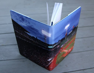 red sox fenway park journal notebook diary, boston massachusetts