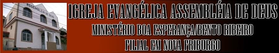 Igreja Evangélica  Assembléia de Deus MIBE NF.