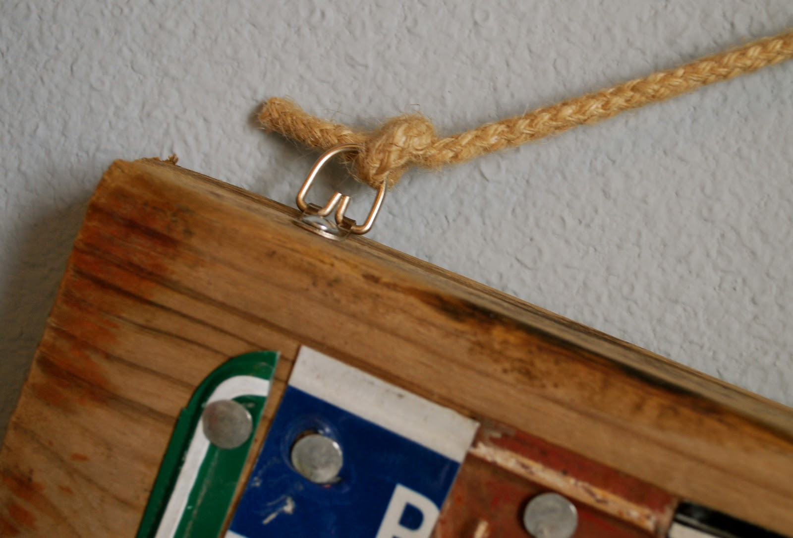 How to tie hang rope