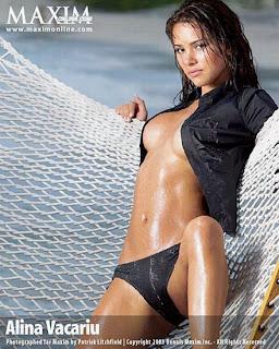 Alina Vacariu la Maxim