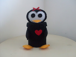 Pinguim - Peso de porta - Fofo!!!