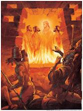 Sadraque, Mesaque e Abednego na fornalha ardente