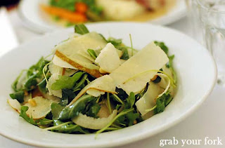 pear and rocket salad